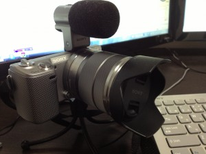 SONYのミラーレス一眼NEX-5Nで動画作成をしてみた